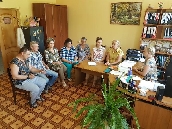 Совещание по реализации партийного проекта «Местный дом культуры»